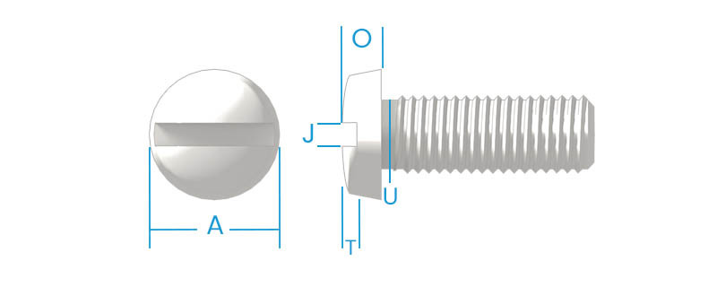 Binding Slotted Machine Screws