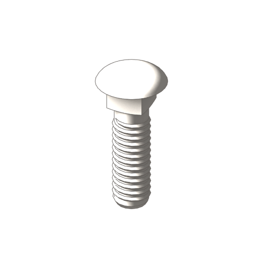 titanium carriage bolts