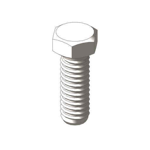 titanium heavy hex bolts