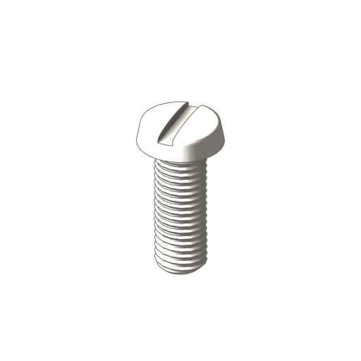 titanium binding slotted screw