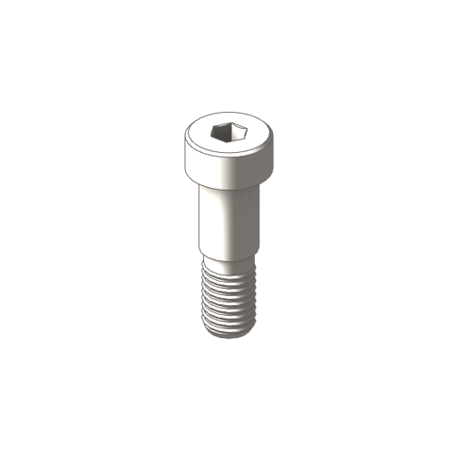 titanium socket head shoulder screws