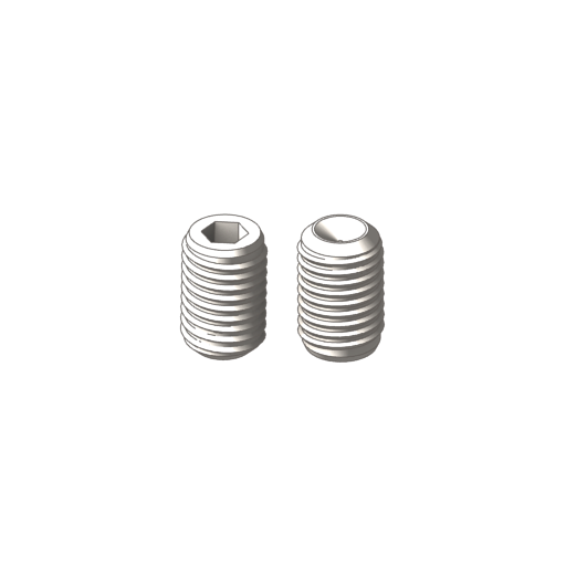 Buy titanium hex socket cup point set screws